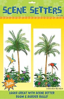 Hawaii Palme Szene Setter Party Wand Dekoration Foto Hintergrund