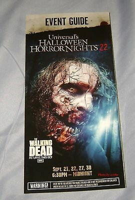 Halloween Night Events (HALLOWEEN HORROR NIGHTS 22 MAP EVENT GUIDE THE WALKING DEAD UNIVERSAL)