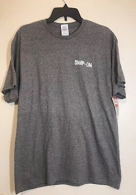 Snap On Tools T Shirt Gray All American NWT White Logo Size L