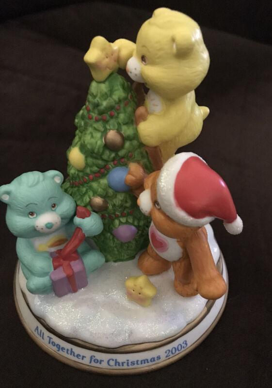 Care Bears All Together For Christmas 2003 Nip