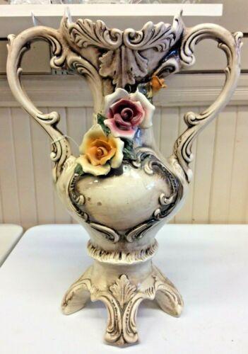 Antique Capodimonte Vase - A