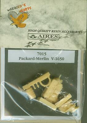 1/72 Packard-Merlin V-1650 resin engine AIRES 7015