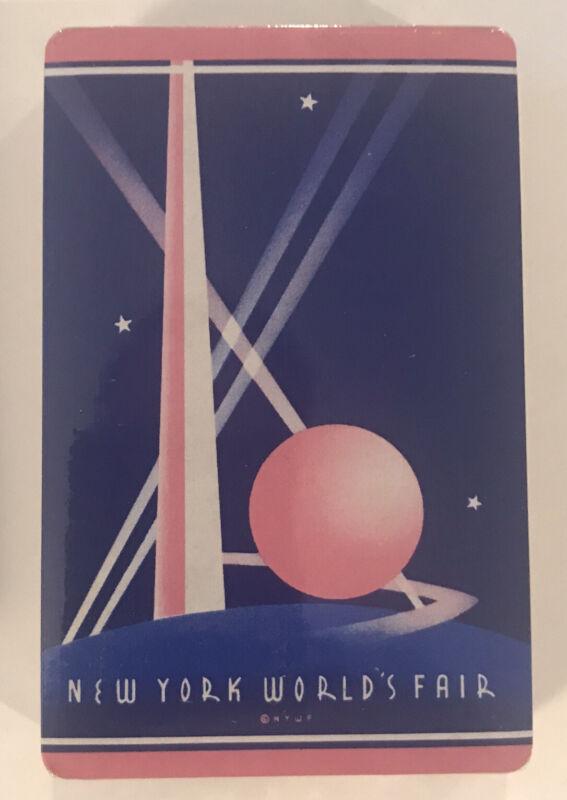 1939 New York World's Fair PLAYING CARDS * Factory Sealed * Trylon & Perisphere