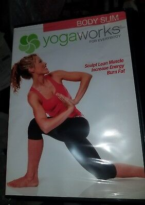 Yogaworks For Everybody  Body Slim  Dvd  New And Sealed