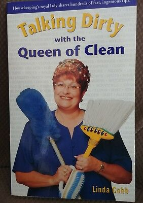 """""""Talking Dirty with the Queen of Clean"""" - Paperback - Home cleaning tips"""