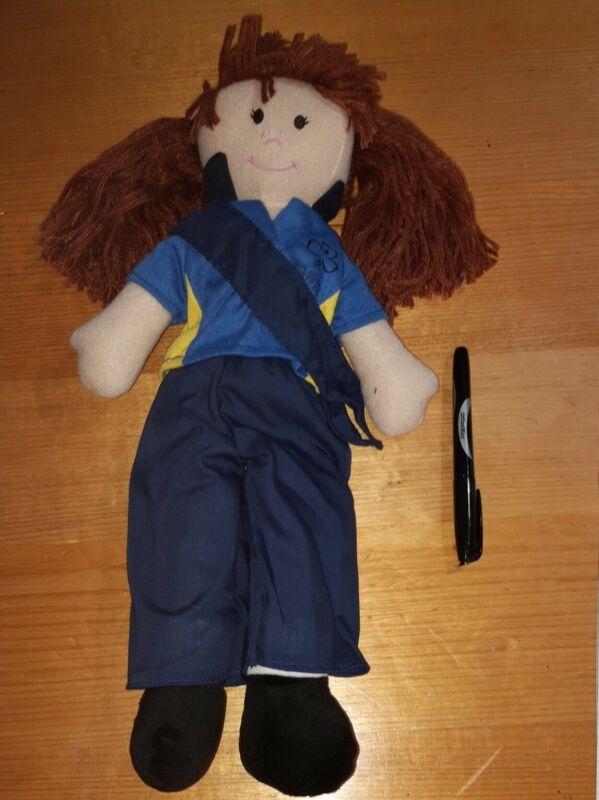 Girl Guide Australia Doll Brown Hair