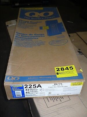 Square D Qo142l225g Circuit Breaker Load Center 225a 42 Spaces New In Box