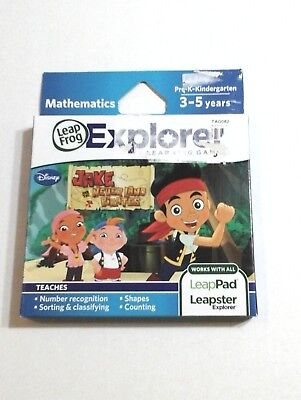 JAKE AND THE NEVERLAND PIRATES GAME LeapFrog Explorer Math LEARNING Games DISNEY](Jake And The Neverland Pirates Game)