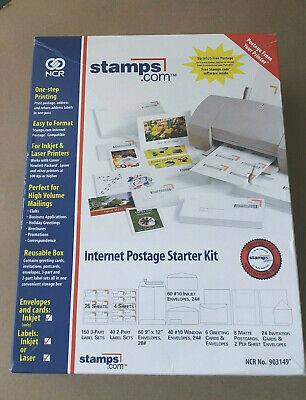 Stamps.com Internet Postage Starter Business Variety Kit 903149 Ncr Envelopes