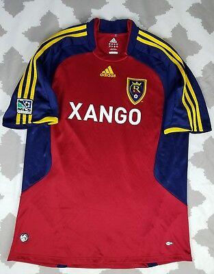 Adidas Real Salt Lake MLS Soccer Jersey Mens sz L 2007 Climacool Xango RSL  image