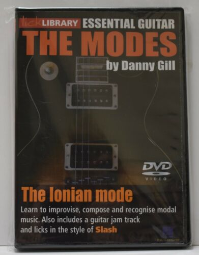 The Modes, The Ionian Mode, Danny Gill DVD