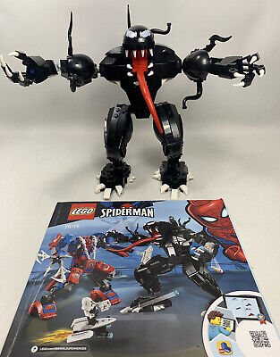 LEGO 76115 Marvel Super Heroes Venom Symbiote Mech ONLY NO Minifigures + Manual
