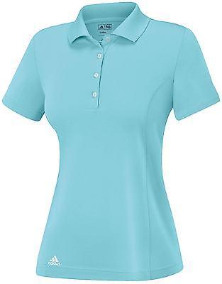 Adidas Mujer Puremotion Sólido Camiseta Polo (S) Claro Aqua B83789