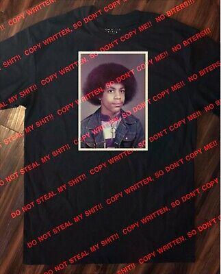 Prince Rogers Nelson Purple Rain Rare School Picture T-Shirt Size XLarge