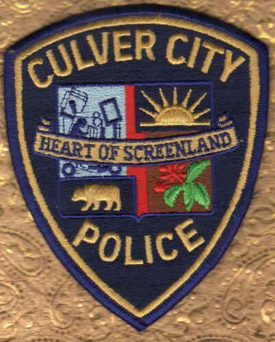 Culver City California Police Shoulder Patch