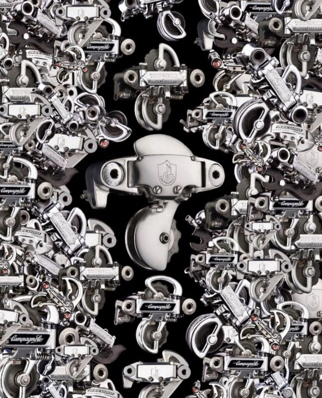 Campagnolo Rear Derailleur Puzzle C-Record Super Record 50th njs colnago Crank