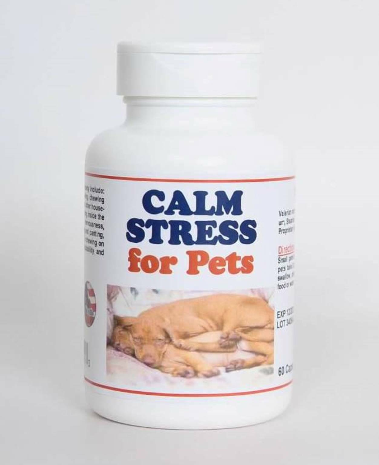CALM STRESS CARE FOR PETS - Anxiety Supplement for Pets - Made in USA