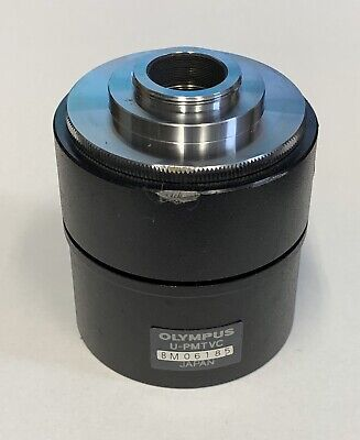 Olympus Microscope U-pmtvc Tv 0.3x Camera Lens Adapter Tube For C-mount