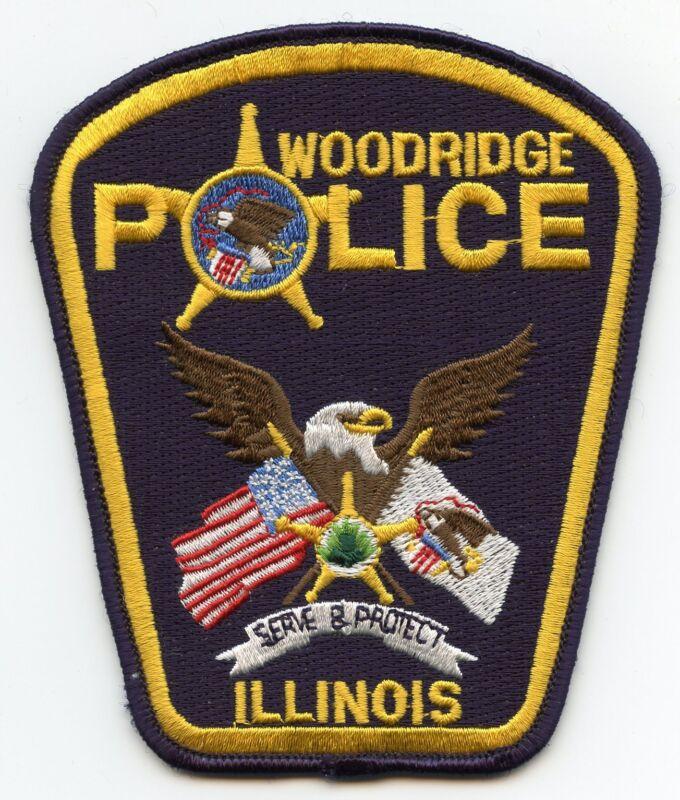 WOODRIDGE ILLINOIS IL POLICE PATCH
