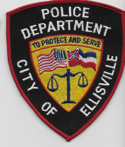 Ellisvile Police State Mississippi MS patch