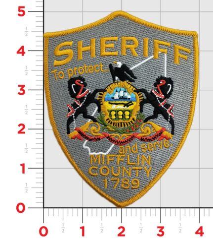 NEW STYLE MIFFLIN COUNTY SHERIFF  PA  PENNSYLVANIA