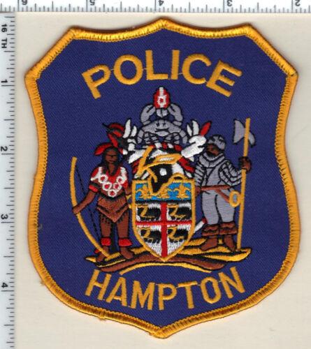 Hampton Police (Virginia) Shoulder Patch from 1992