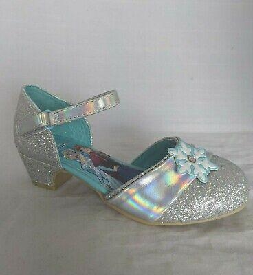 Frozen Dress For Little Girls (Disney Frozen Dress Shoes, Girls Little Kid Size 11 - Elsa High Heel Dress)