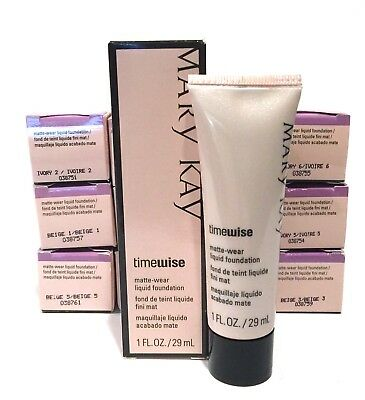 MARY KAY TIMEWISE MATTE WEAR LIQUID FOUNDATION~YOU CHOOSE~SHADE~DISCONTINUED!