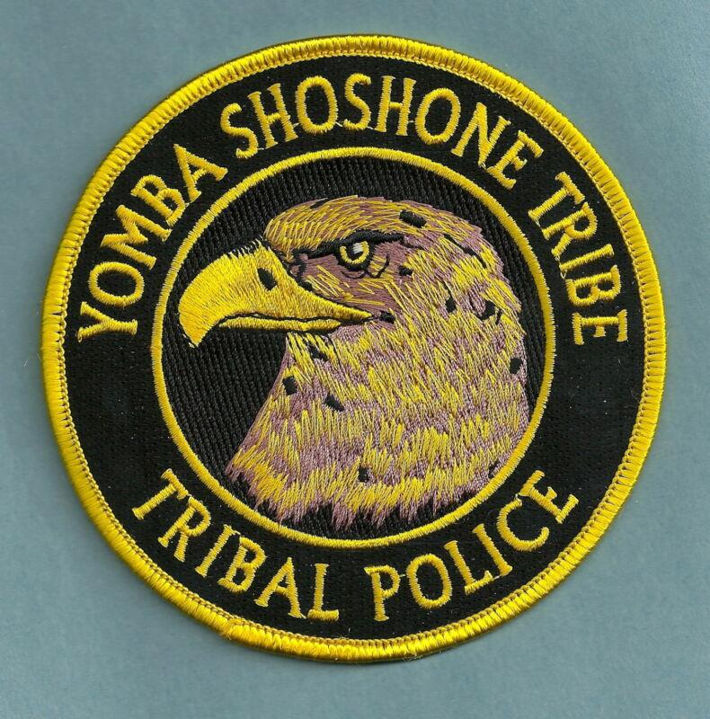 YOMBA SHOSHONE NEVADA TRIBAL POLICE SHOULDER PATCH