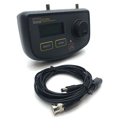Synrad Uc-2000 Universal Laser Controller Power .55 Adjustable 15-50vdc 35ma