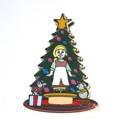 LE 125 Disney Pin✿Cinderella Small World Holiday Christmas Tree Jaq Gus Doll Rag