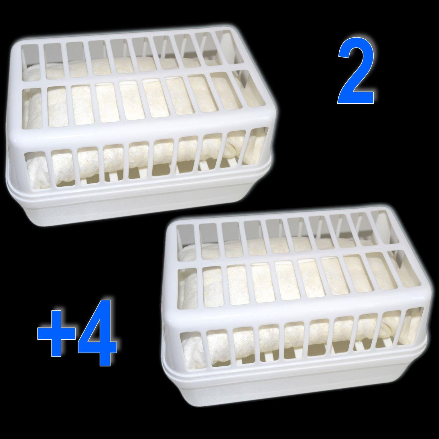 XXL Luftentfeuchter Raumentfeuchter  Entfeuchter 2 x Box + 4,8 kg Granulat