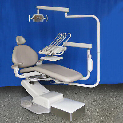A-dec Decade Dental Chair Package W Radius Adec Euro Continental Delivery Light