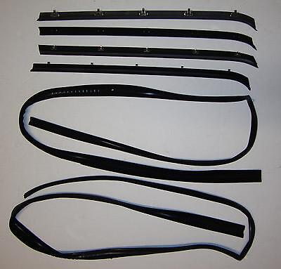 1981-1987 Chevrolet GMC Truck Door Window Glass Weatherstrip Seal Kit
