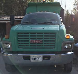 gmc c 6500 top kick landscape dump truck for sale