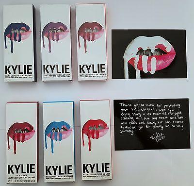 Kylie Jenner Lip Kit Matte Liquid Lipstick And Lip Liner   Free Silicone Sponge