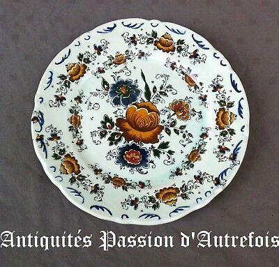 Occasion, B2017780 - Plat de 32 cm en faïence de Delft polychrome - Très bon état  d'occasion  Tournai