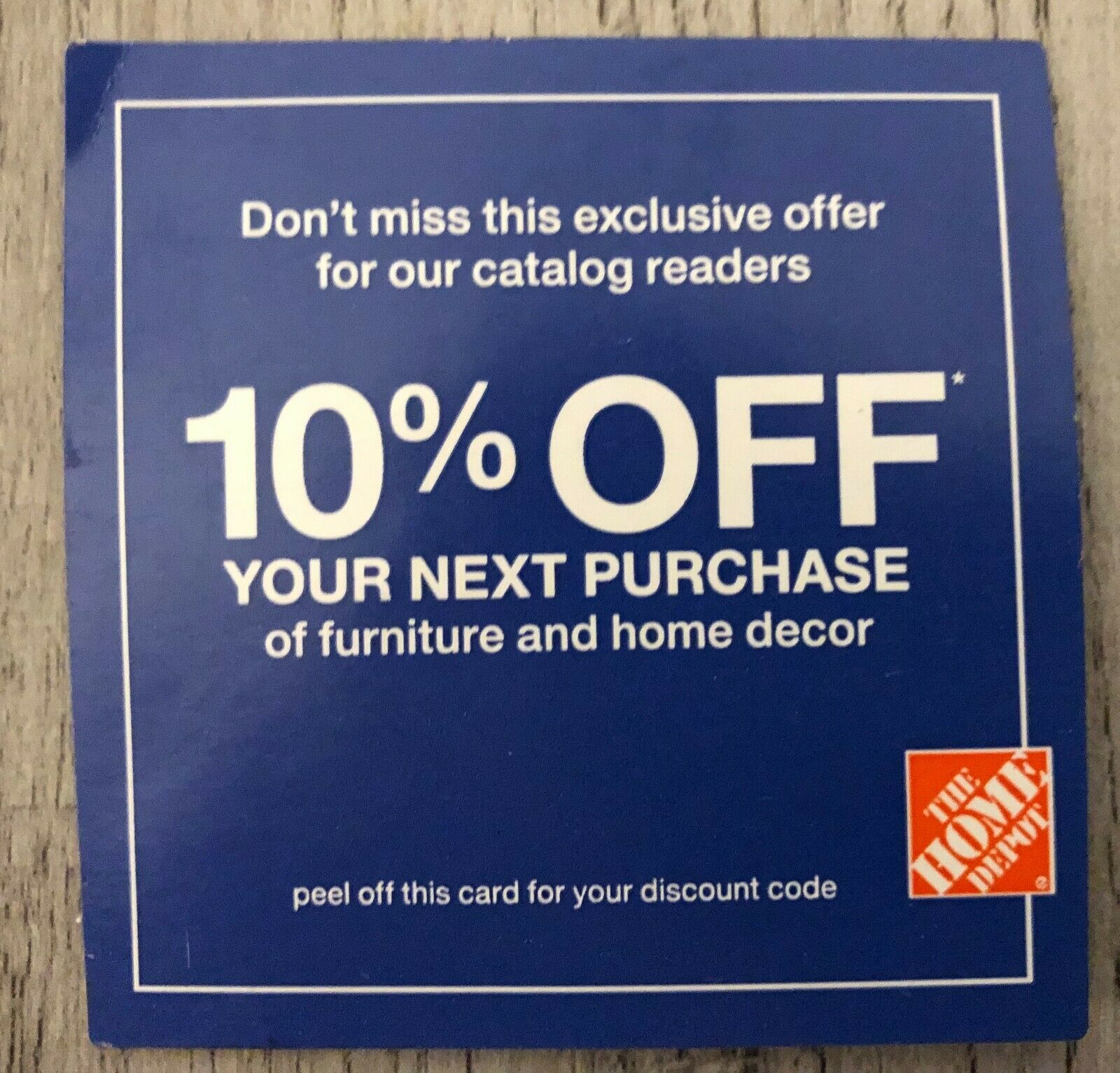10 OFF Home Depot Coupon Save Up To 200 Exp. 3/14/21 - $21.95