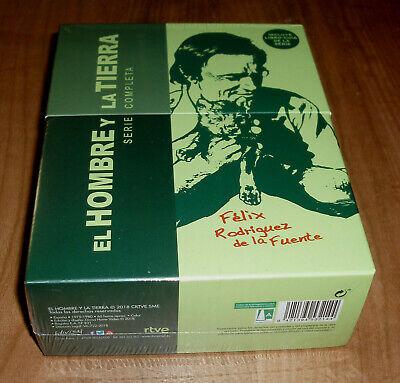 EL HOMBRE Y LA TIERRA SERIE COMPLETA 26 DVD+LIBRO GUIA NUEVO (SIN ABRIR) R2