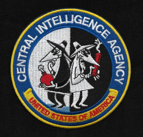 Central Intelligence Agency CIA United States of America Spy VS Spy Patch
