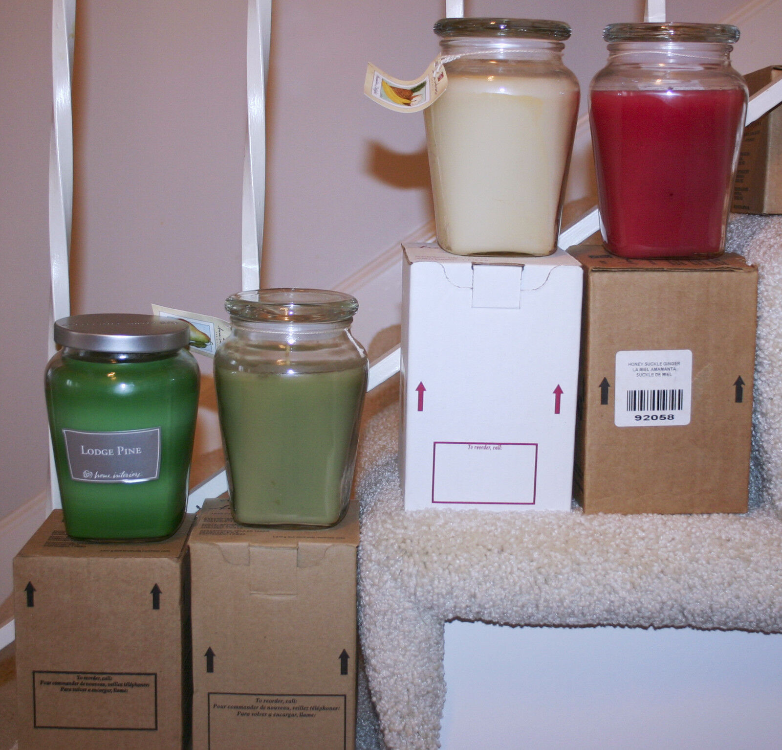 Home interiors retired scents 22 ounce ginger jar candles 2 2 of 2 see more