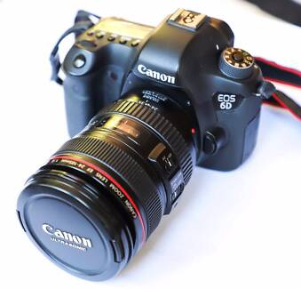 Canon EOS 6D - great full frame digital SLR camera