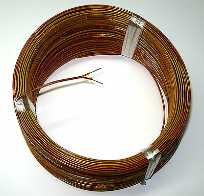 High Temperature Thermocouple Wire (High Temperature K-type Thermocouple Wire Solid AWG 24 w. Kapton insulation 5 yd )