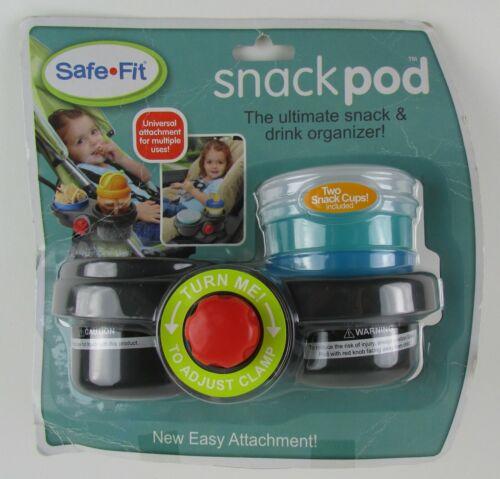 """SafeFit Snack Pod """"The Ultimate Snack & Drink Organizer!"""""""