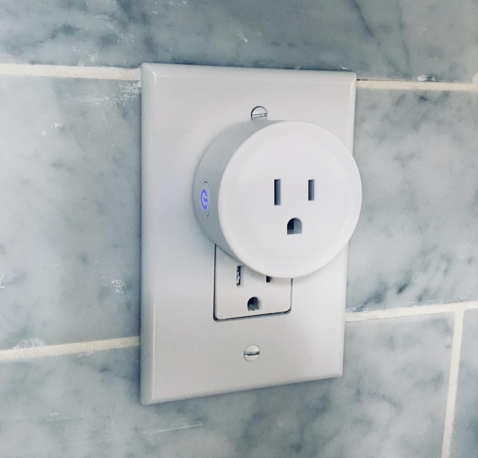2 pack wifi mini smart plug socket