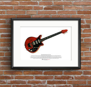 Brian-Mays-Red-Special-ART-POSTER-A3-size