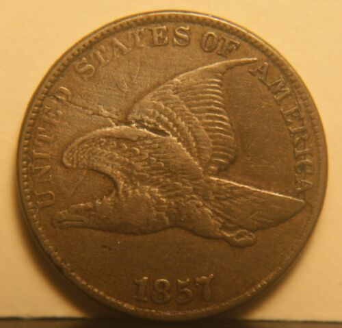 1857 Flying Eagle Cent. ( Snow 9 )
