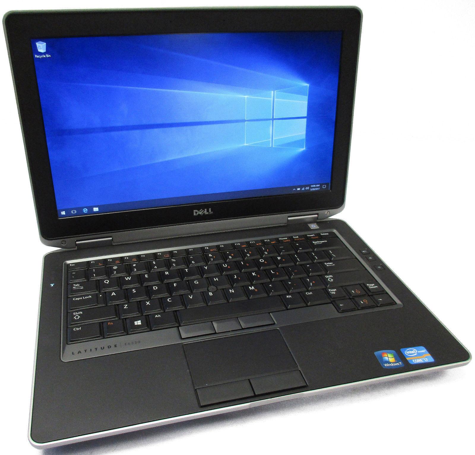 """Dell Latitude E6330 13.3"""" Core i5-3340M 2.7GHz 320GB 6GB BT No Battery/Opt Drive"""