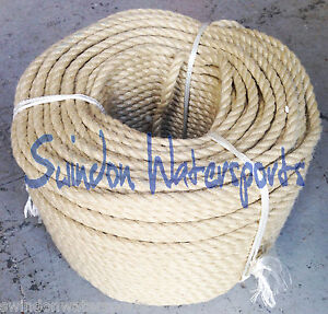 Polyhemp Rope, Hempex Rope, Decking Rope: 24mm by the meter