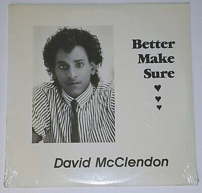 DAVID MCCLENDON SEALED BETTER MAKE SURE PRIVATE LP MODERN SOUL R&B FUNK (Best Modern Soul Music)